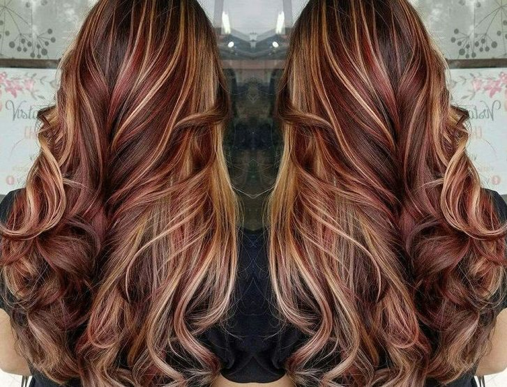 Best Color Highlights For Red Hair