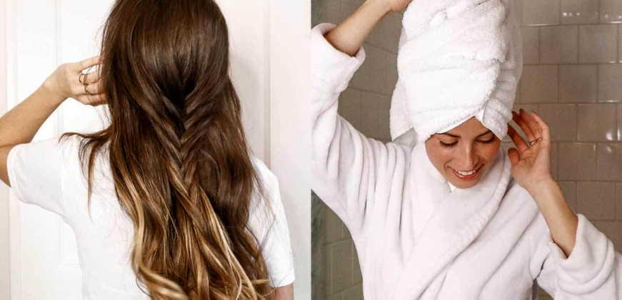 make hair dry